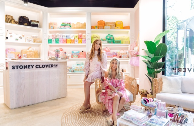 Stoney Clover Lane founders Kendall and Libby Glazer.