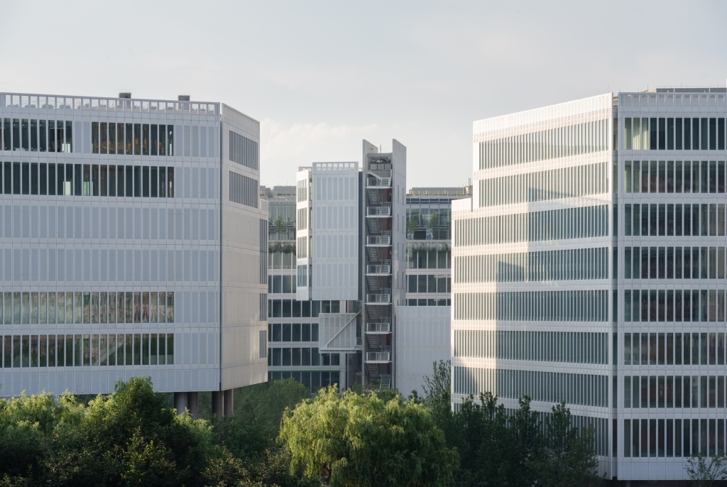 JNBY Group's headquarter, designed by Renzo Piano