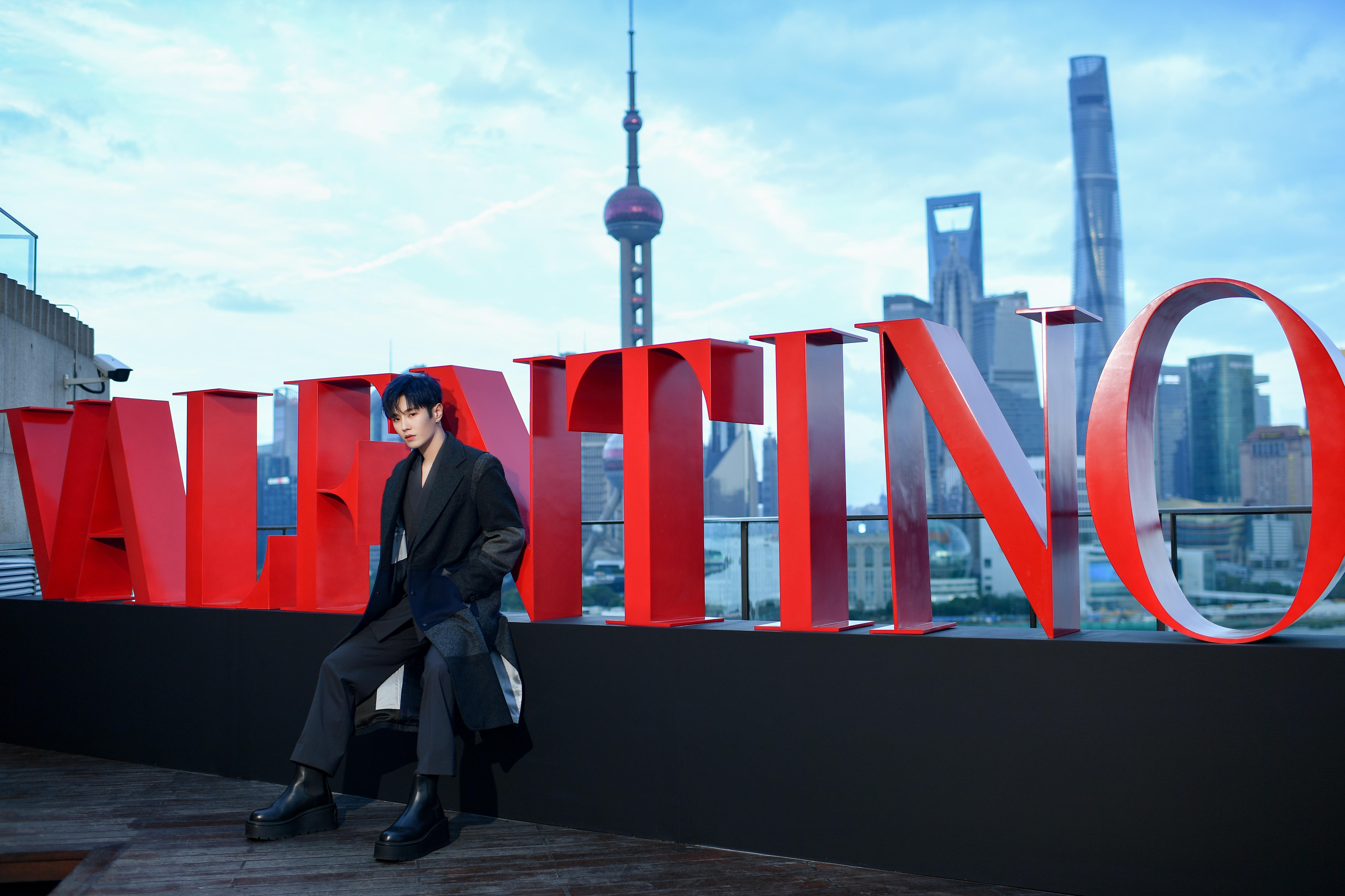 Valentino took over Sir Elly's Bar & Restaurant at Shanghai's Peninsula hotel.