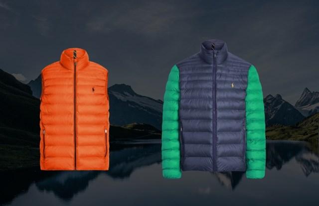 Ralph Lauren customized jackets.