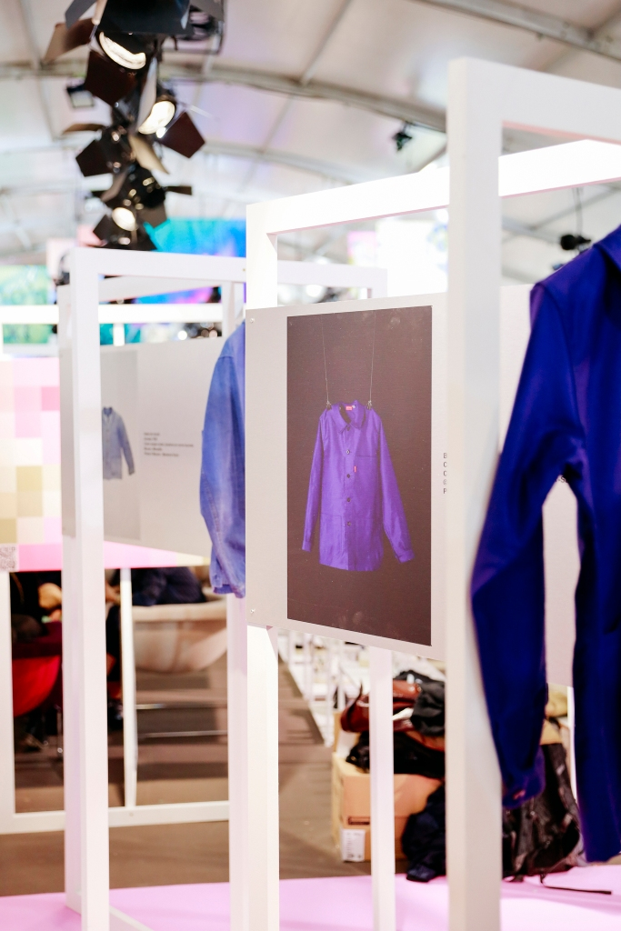 The Vêtements Modèles installation at Première Classe and Who's Next.