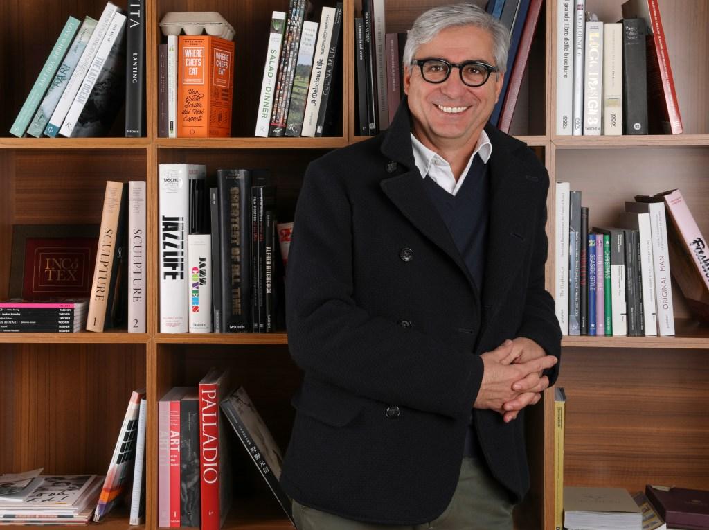 Slowear's president and CEO Roberto Compagno.