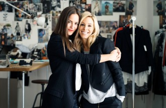 Christie Smythe and Andrea Lenczner