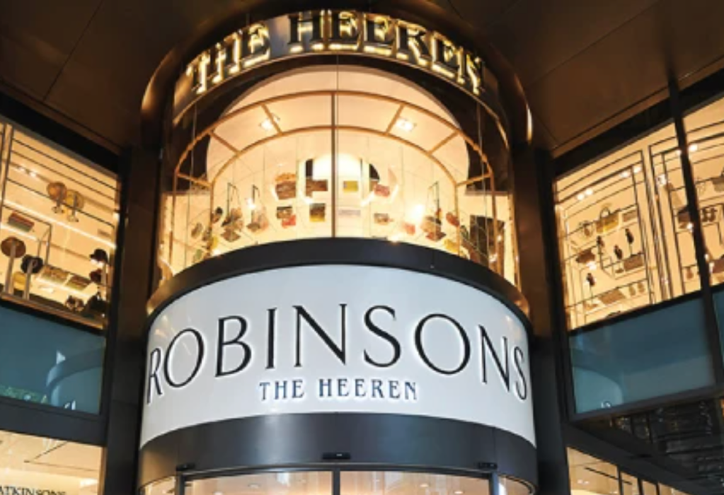 Robinsons flagship location at The Heeren