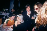 Marc Jacobs, Tommy Hilfiger and Michael Houghton at the Venus Fashion Awards at the Tunnel, New York, 1995.