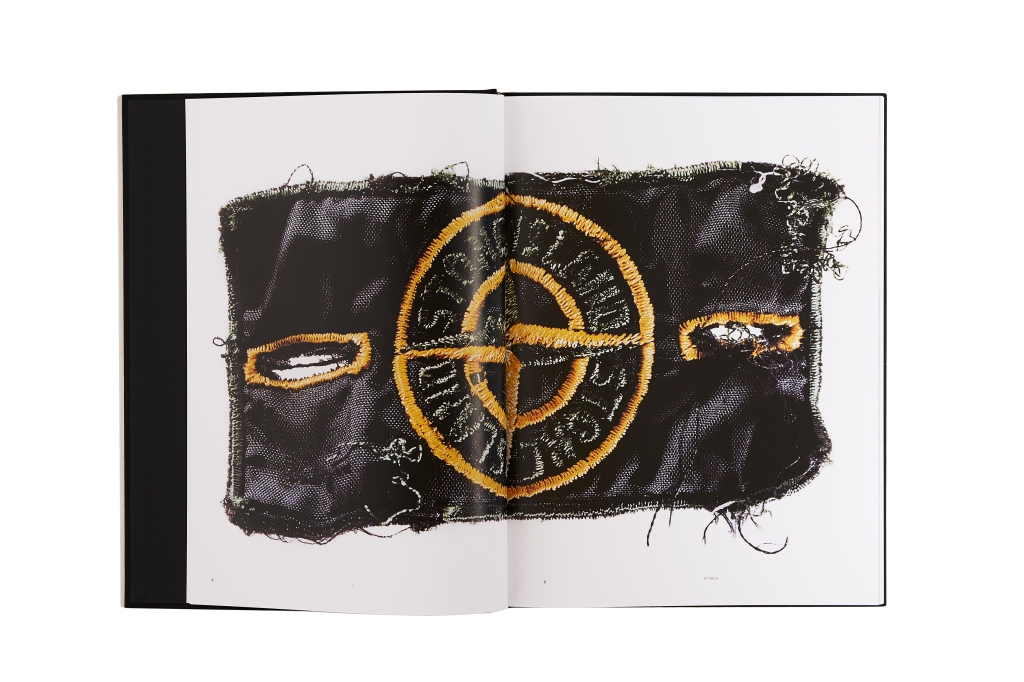 "A picture from ""Stone Island: Storia"" book"