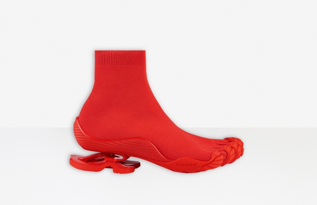 The limited-edition Balenciaga Toe Sock sneaker.