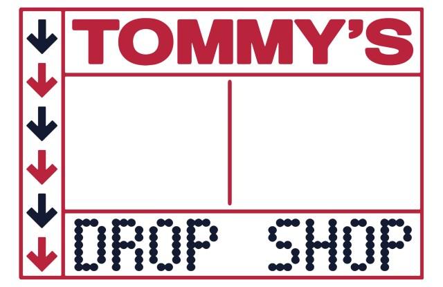 Tommy's Drop Shop logo.