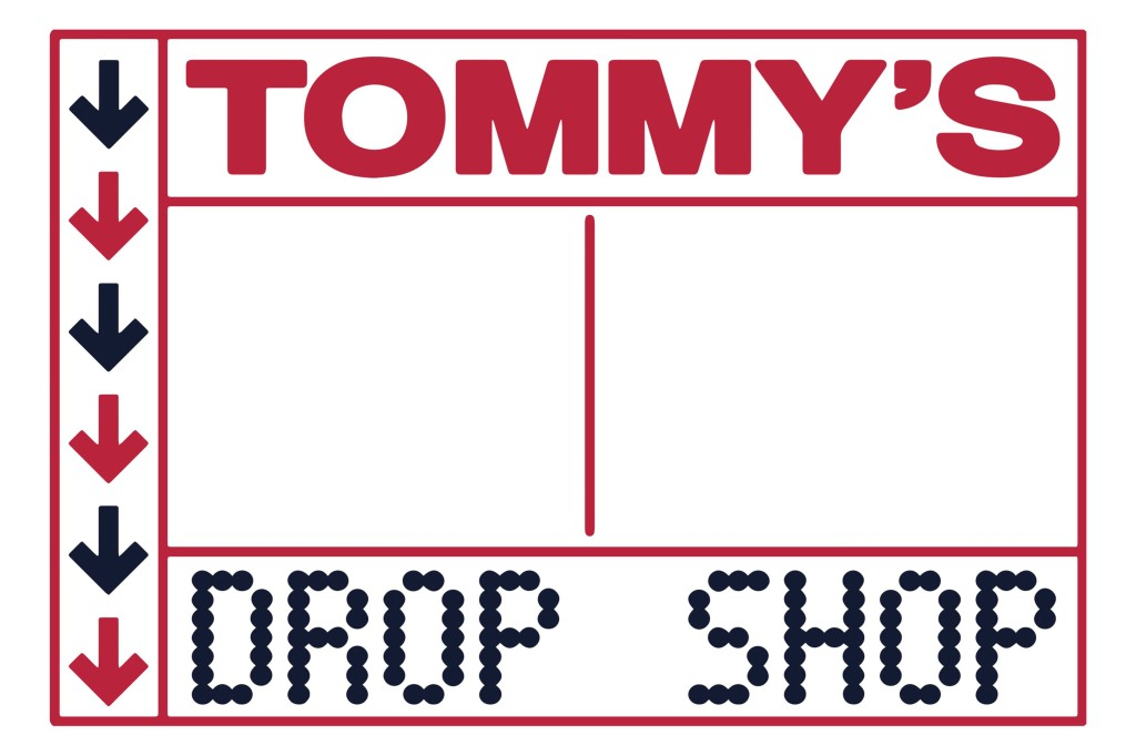 Tommy's Drop Shop logo.