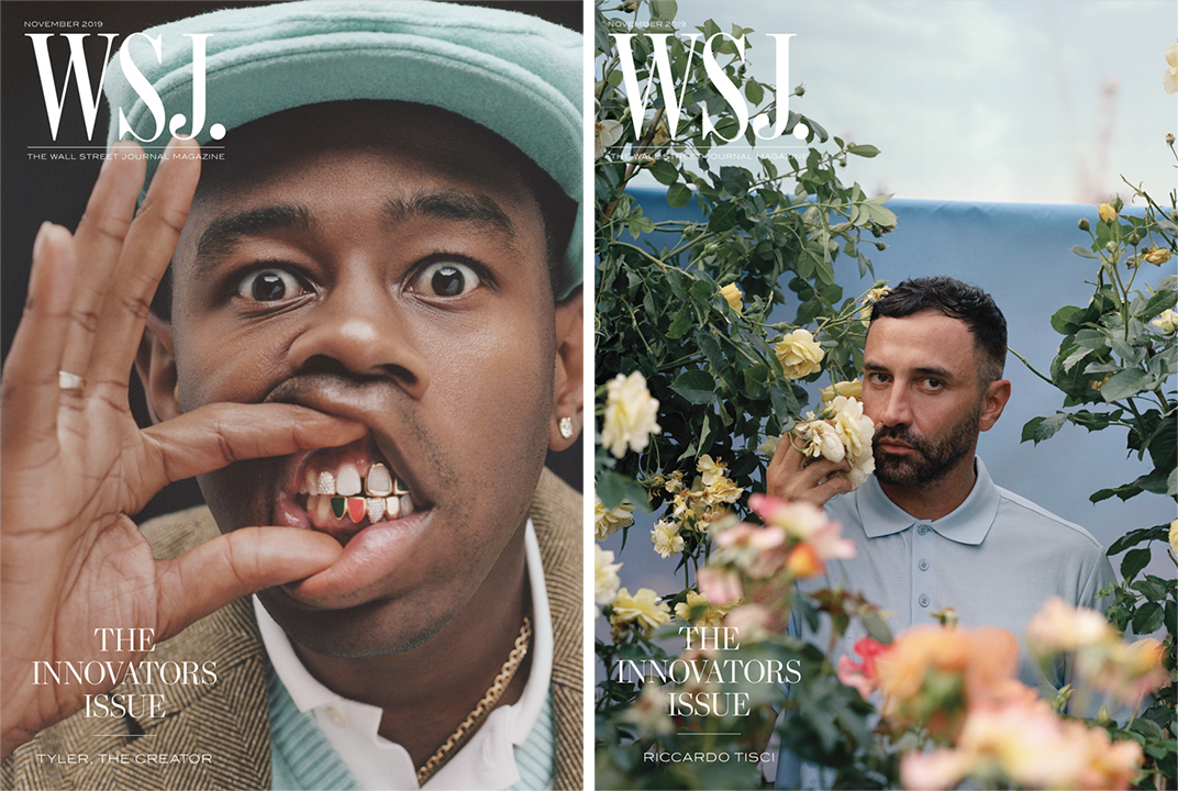 WSJ. Magazine's Innovator covers from 2019.