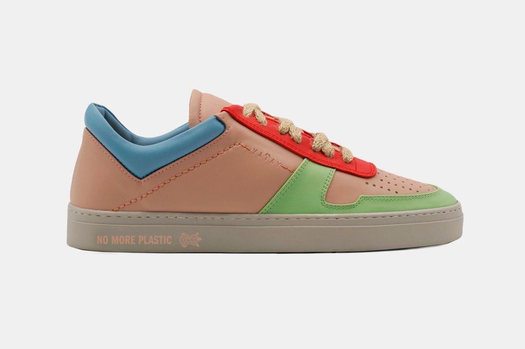 The Yatay x No More Plastic Irori sneaker by Helena Christensen.