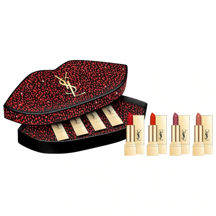 Yves Saint Laurent Mini Rouge Pur Couture Lipstick Set
