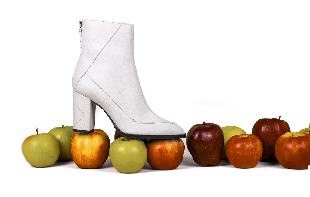 Sustainability, footwear, apple, leather, new york