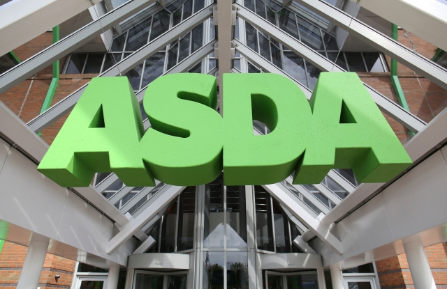"Asda concerns. File photo dated 01/05/15 of an Asda sign. Asda's US owner has said it is ""seriously considering"" a stock market flotation for the UK supermarket after the chain's deal to merge with rival Sainsbury's was blocked. Issue date: Wednesday May 15, 2019. Walmart - the world's biggest retailer - told Asda managers at an event on Tuesday it was mulling listing Asda, but that any preparations would ""take years"". See PA story CITY Asda. Photo credit should read: Chris Radburn/PA Wire URN:42878219 (Press Association via AP Images)"
