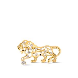 Chanel lion jewelry from the Icones collection