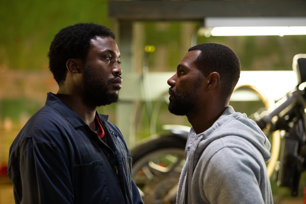 """Meek Mill and William Catlett in """"Charm City Kings."""""""