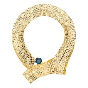 Chaumet's Ondulation necklace