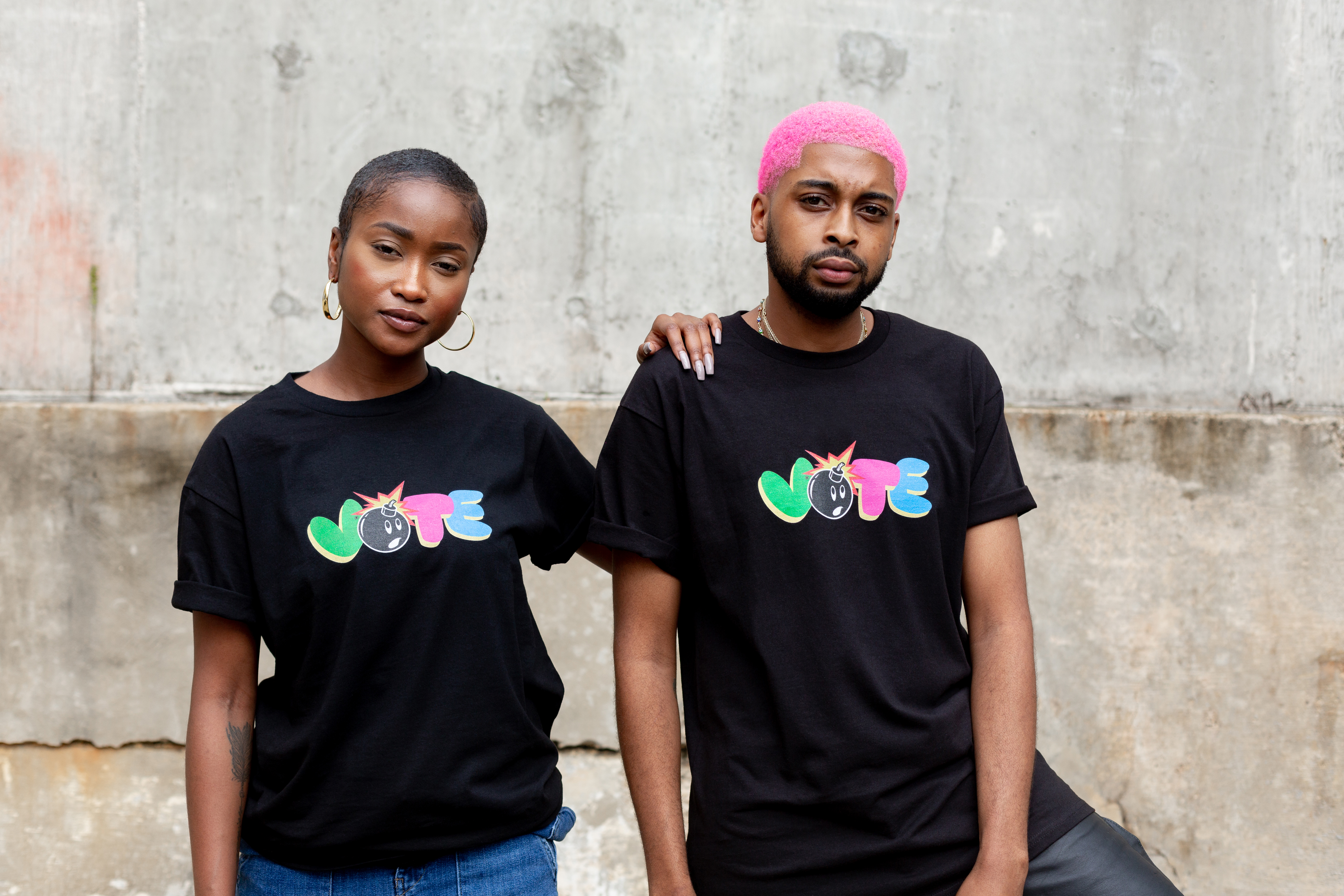 The Hundreds Vote T-shirts.