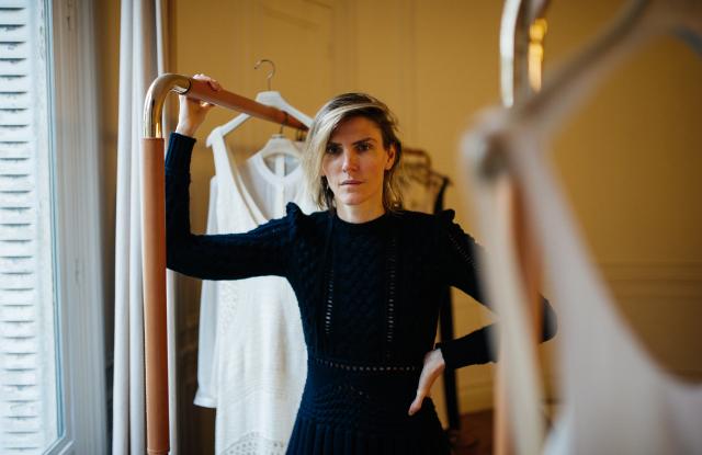 Gabriella Hearst in Paris.