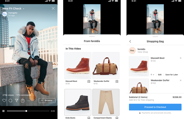 Instagram announces shopping on IGTV.