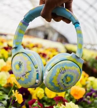 The Crusher Eco headphones.