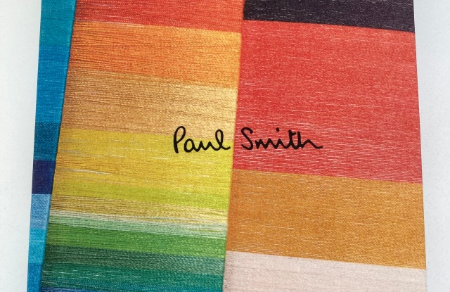 The cover of the Phaidon book marking Paul Smith's 50th anniversary.