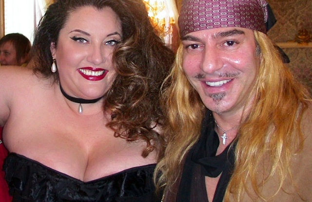 Velvet d'Amour and John Galliano
