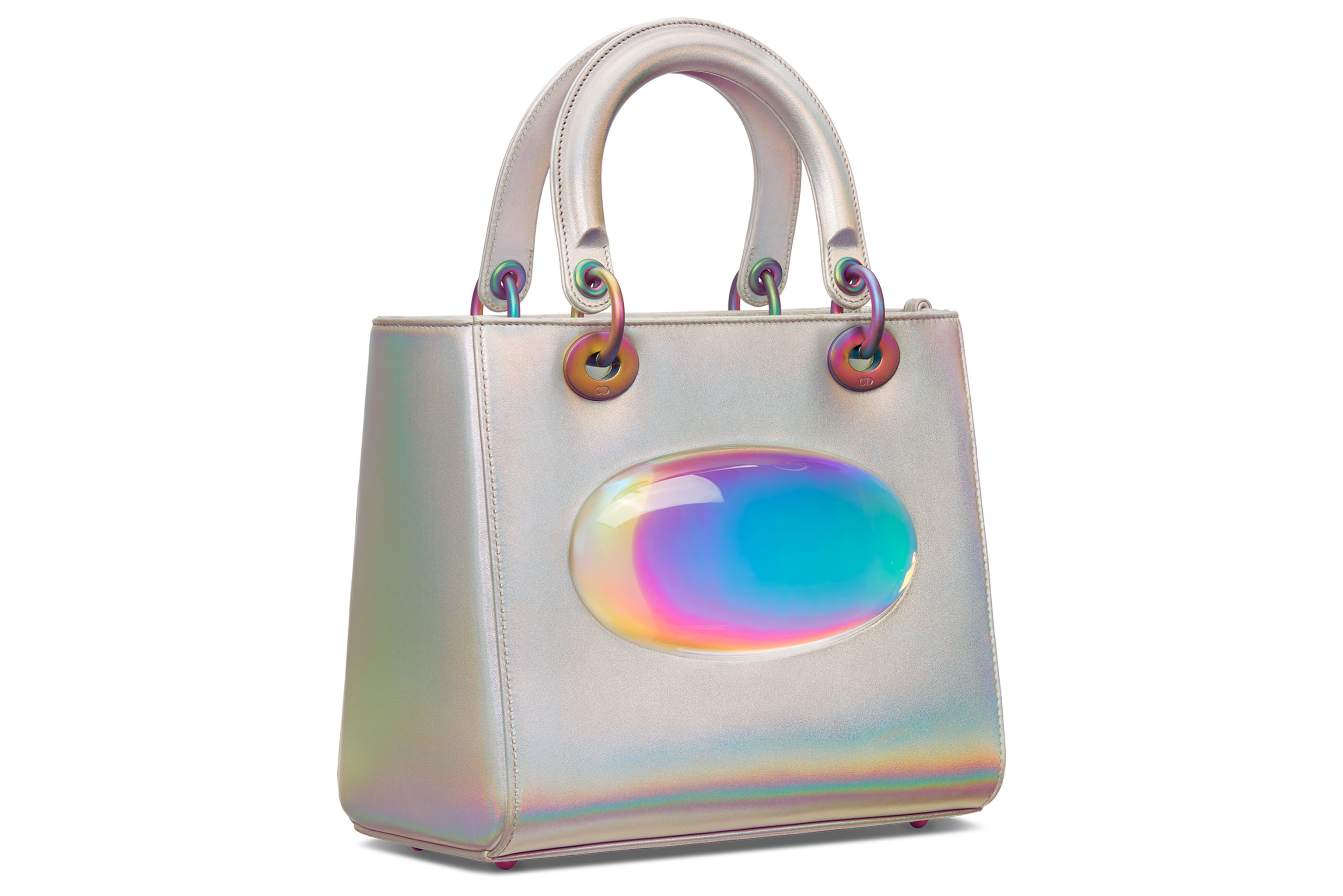 The Lady Dior bag designed by Gisela Colón