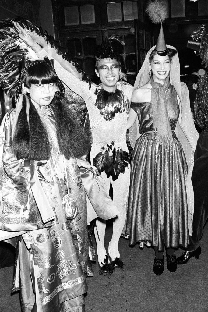 Kenzo attends Loulou Klossowski's Magic City costume ball in Paris, 1978.