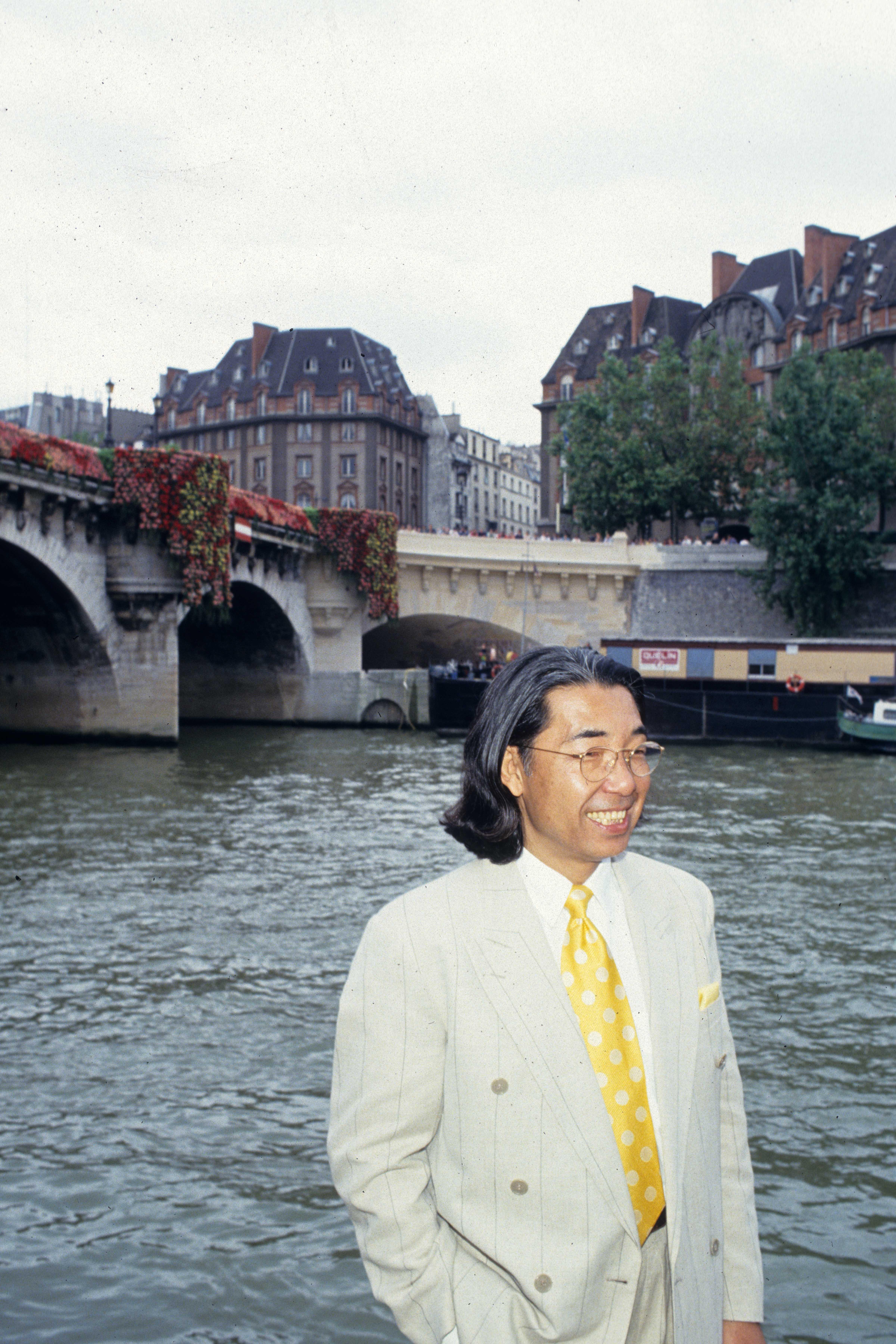 Kenzo in Paris, 1994.