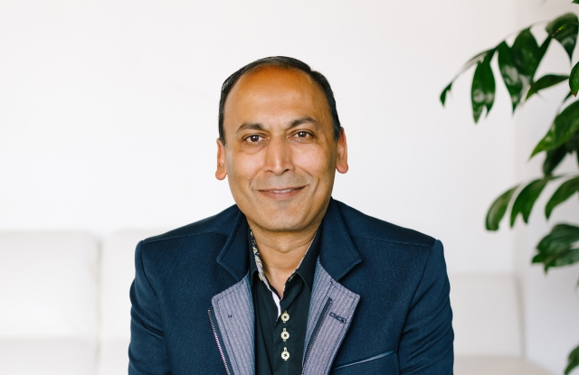 Manish Chandra, founder and chief executive officer of Poshmark.