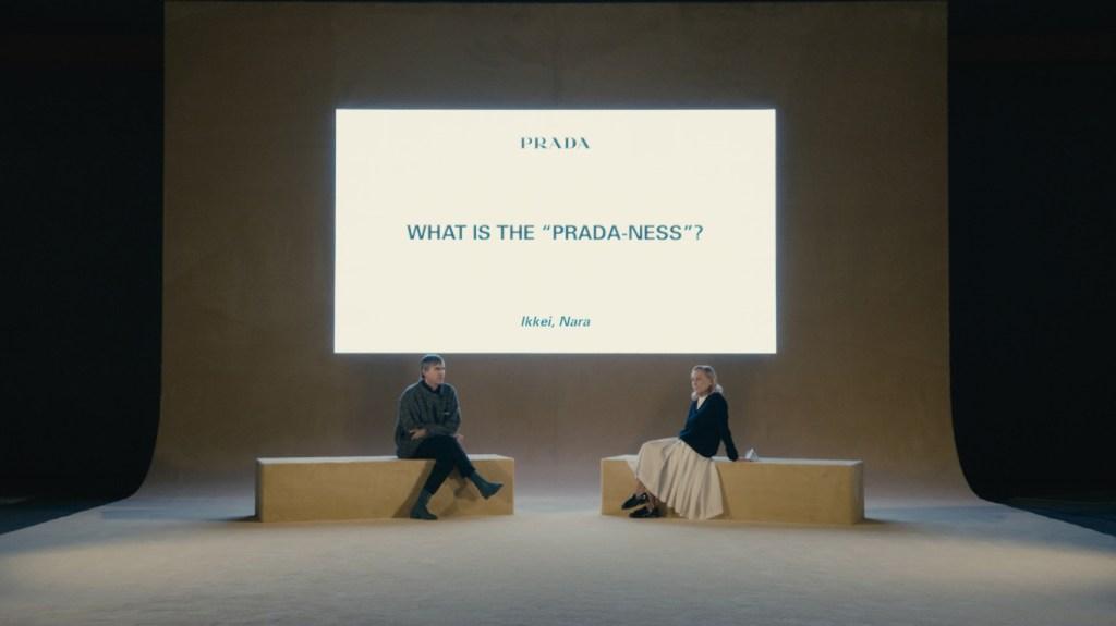 Raf Simons and Miuccia Prada
