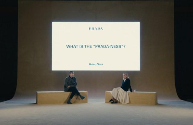 Miuccia Prada, Raf Simons to Continue Postshow Conversation Tradition.jpg