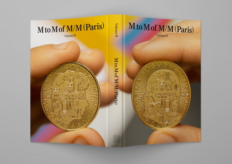 The cover of the new book from M/M (Paris)