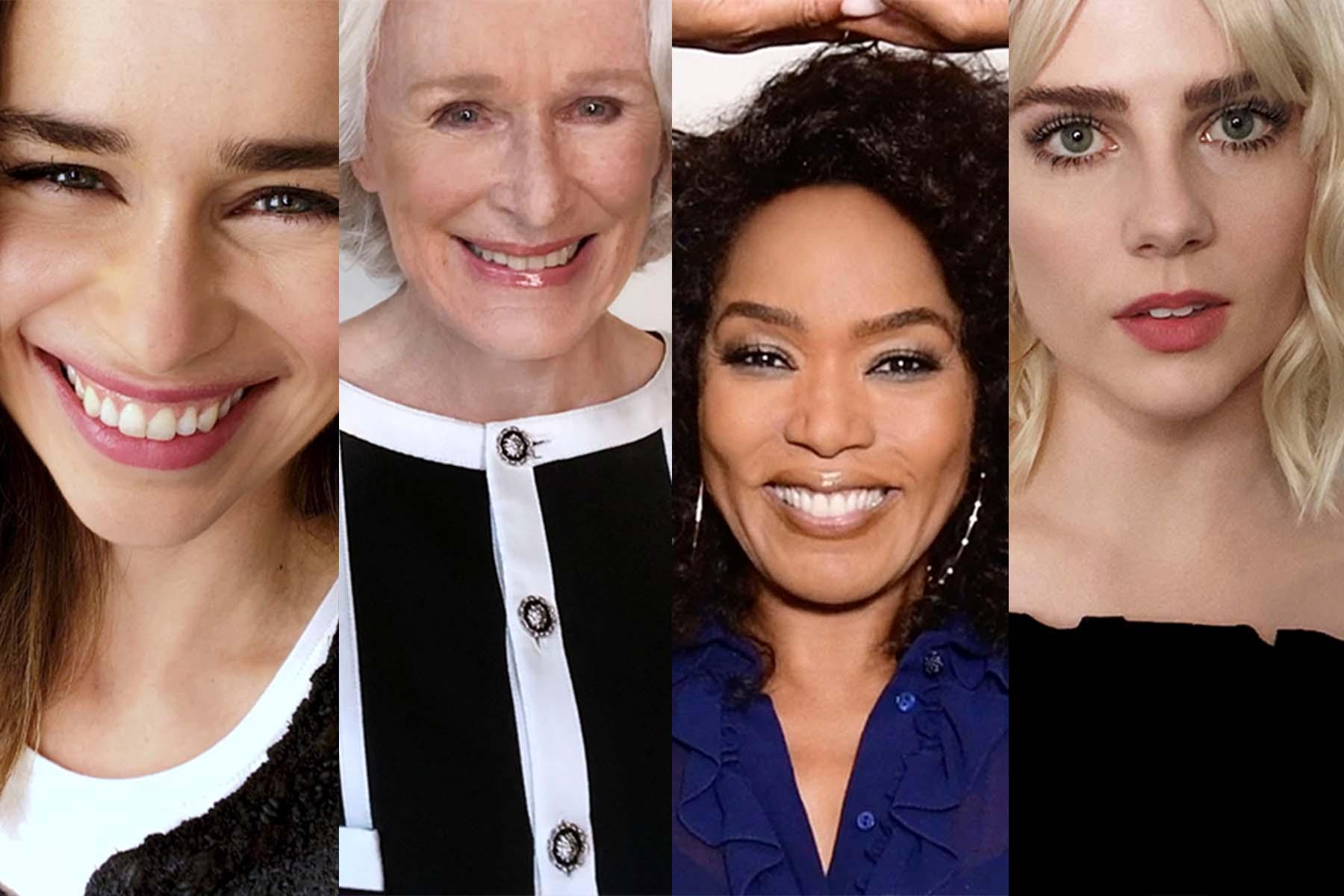 "Emilia Clarke, Glenn Close, Angela Bassett and Lucy Boynton for Chanel x Tribeca's ""Through Her Lens."""