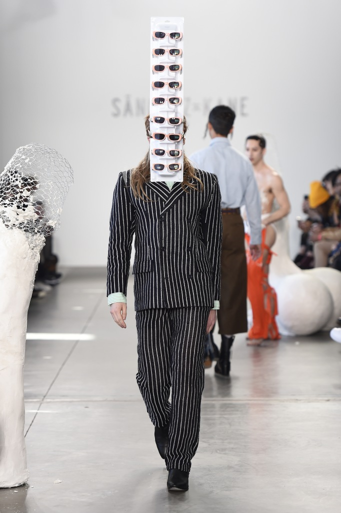 A look from Sánchez-Kane's Fall 2018 collection.