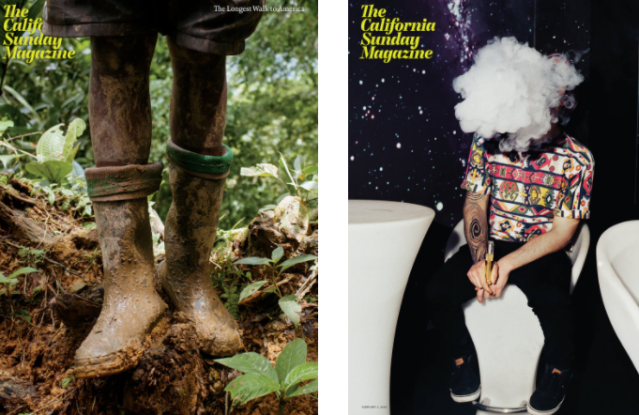 California Sunday Times Magazine Covers