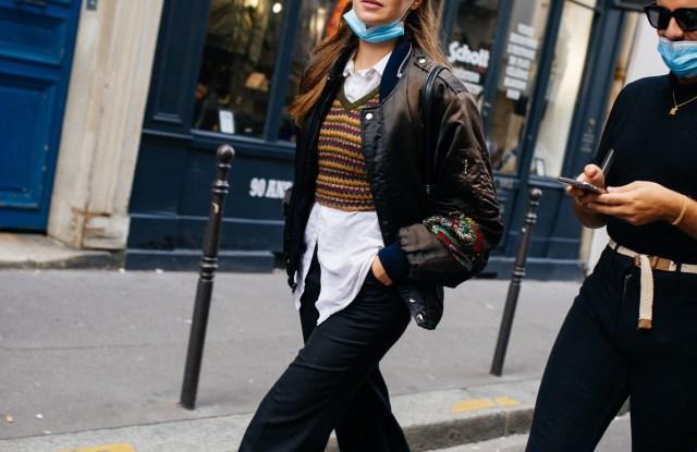 Street Style at Paris Fashion Week Spring 2021