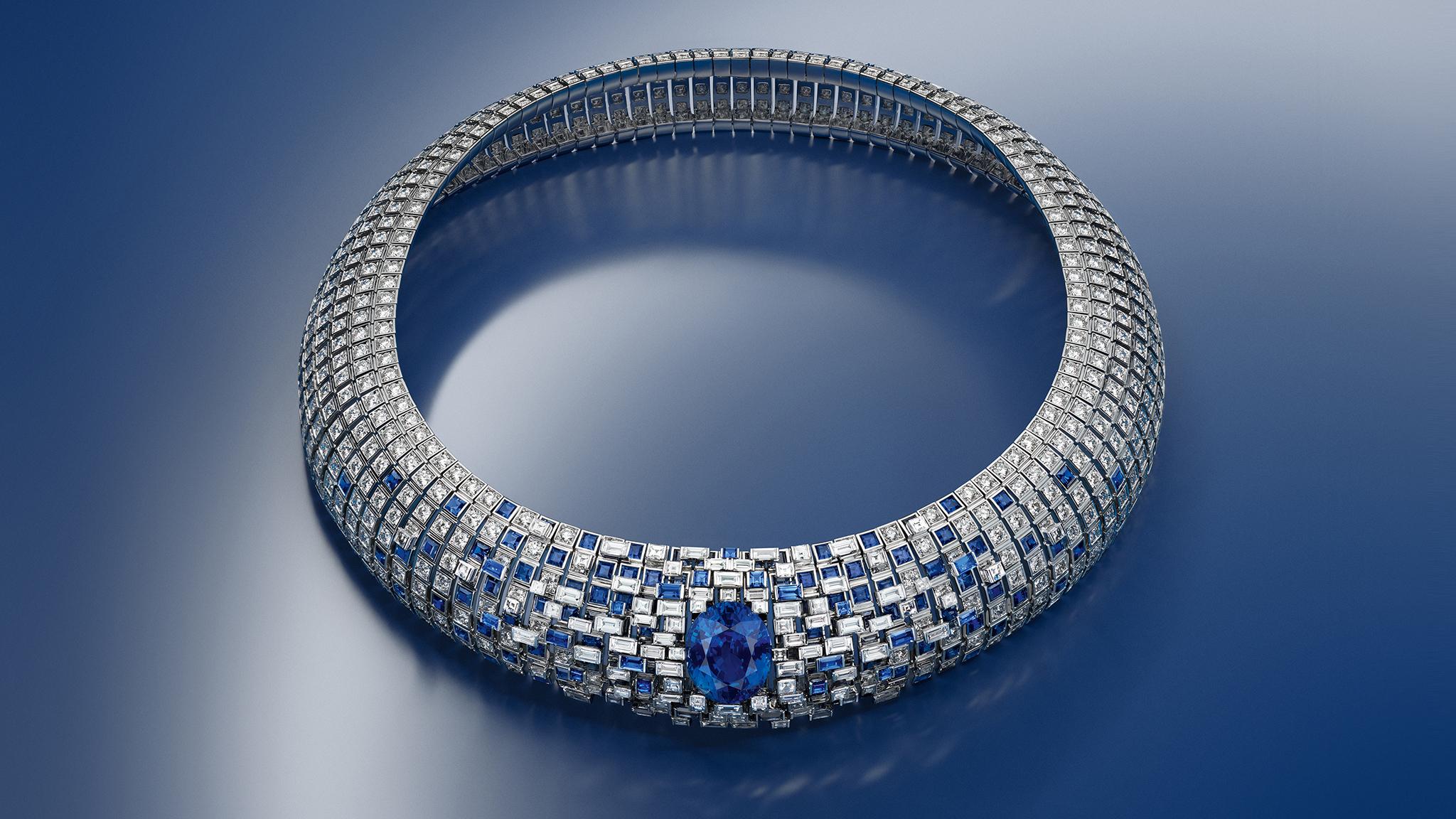 Louis Vuitton's Lune Bleue necklace