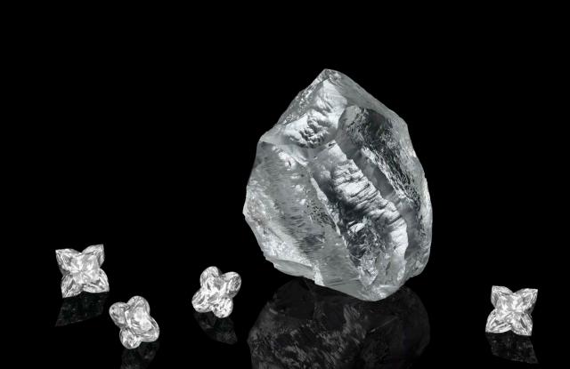 The Sethunya diamond
