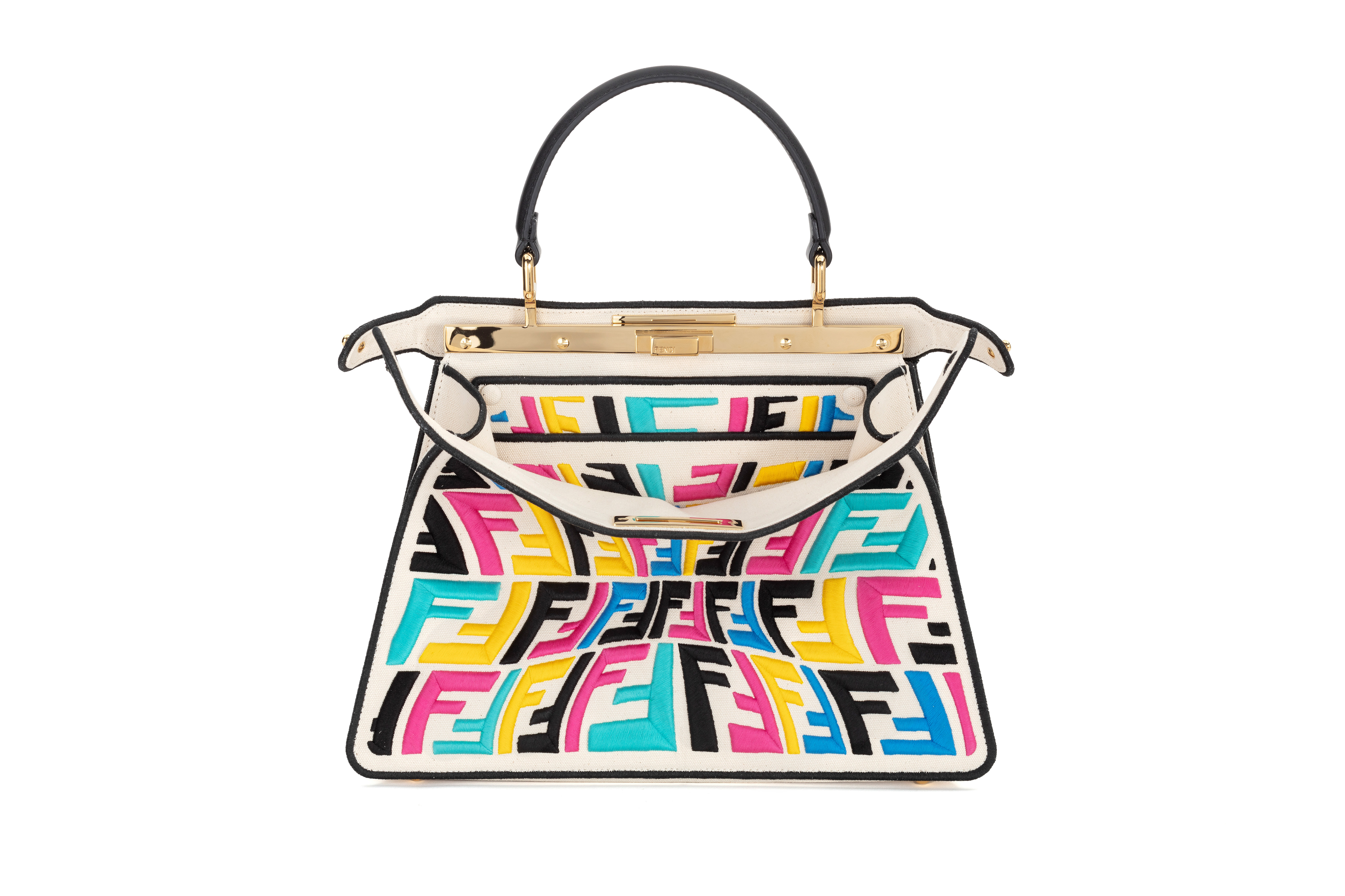 Fendi limited edition Peekaboo bag by Sarah Coleman
