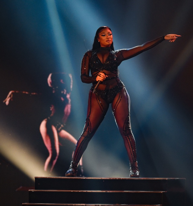 """THE 2020 AMERICAN MUSIC AWARDS - """"The 2020 American Music Awards"""", hosted by Taraji P. Henson aired from the Microsoft Theater in Los Angeles, SUNDAY, NOV. 22 (8:00-11:00 p.m. EST), on ABC. (ABC)MEGAN THEE STALLION"""