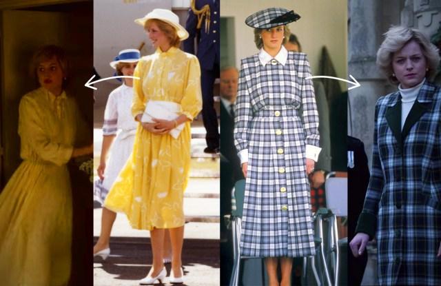 How Princess Diana's Fashion Choices Hinted at What Was Happening Behind Palace Doors