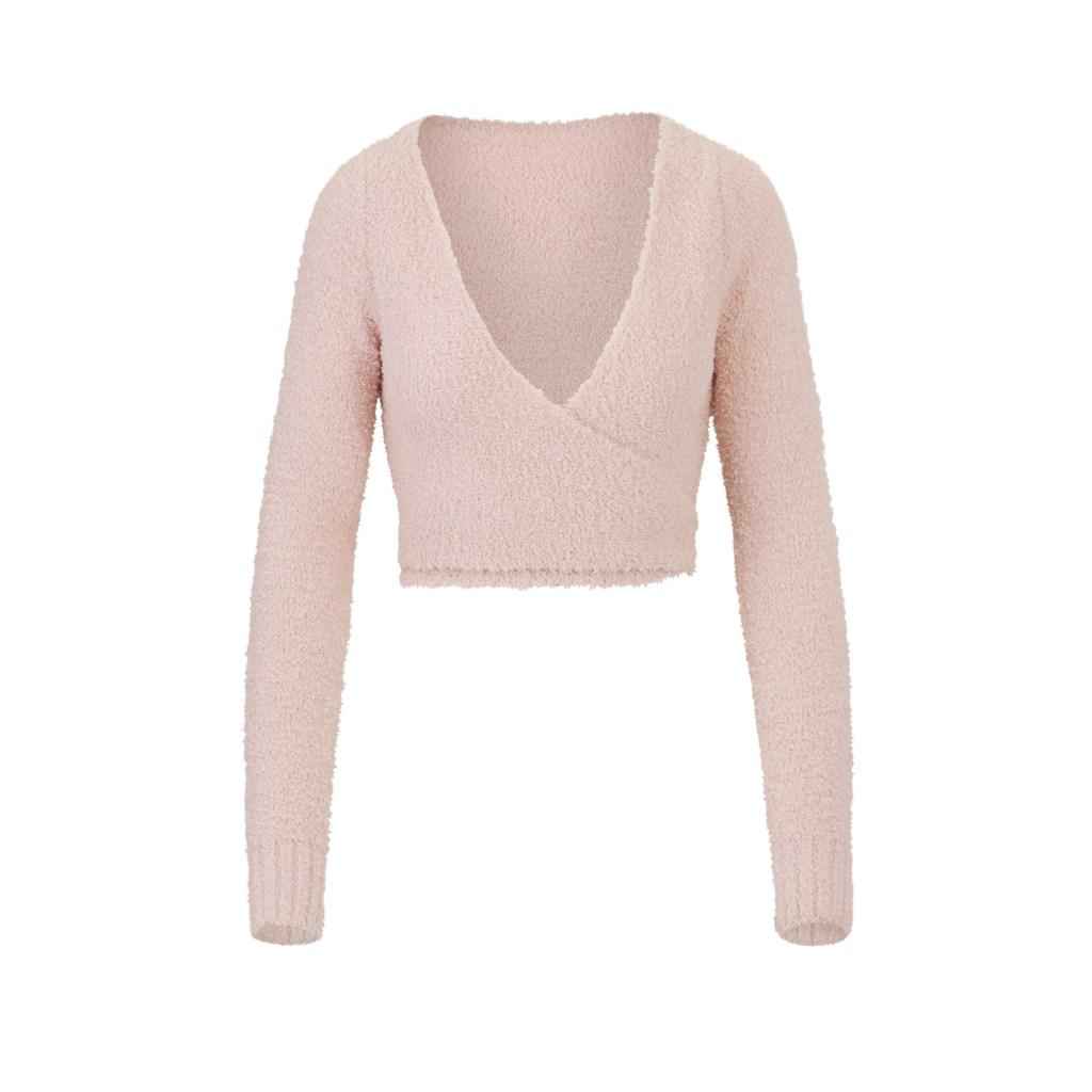 Christmas Gifts 2020 Kim Kardashian SKIMS Knit Wrap Top
