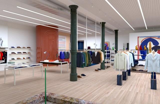 A look inside Paul Smith's new Wooster Street store in SoHo.