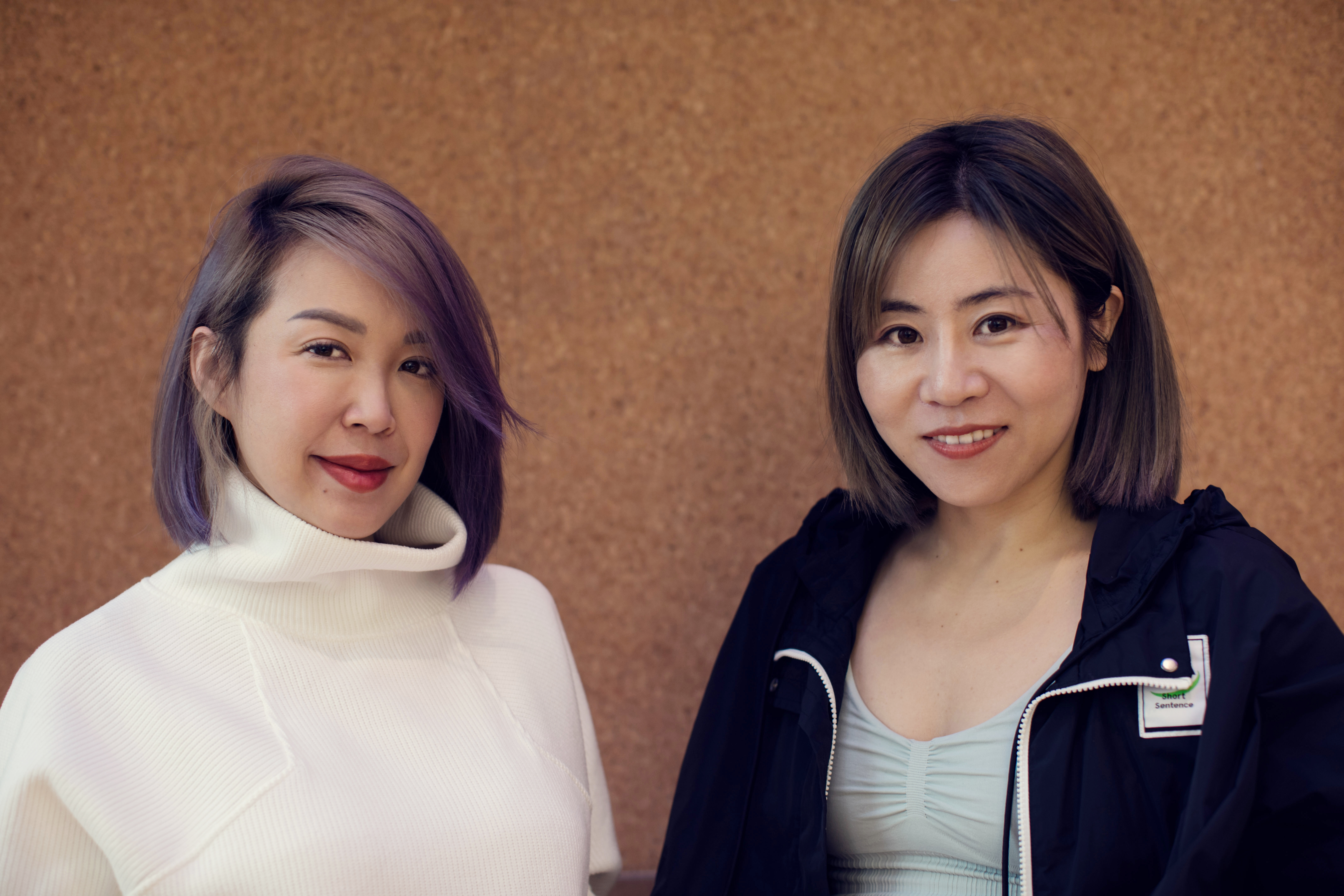 Maia Active founders Lisa Ou and Mia Wang.