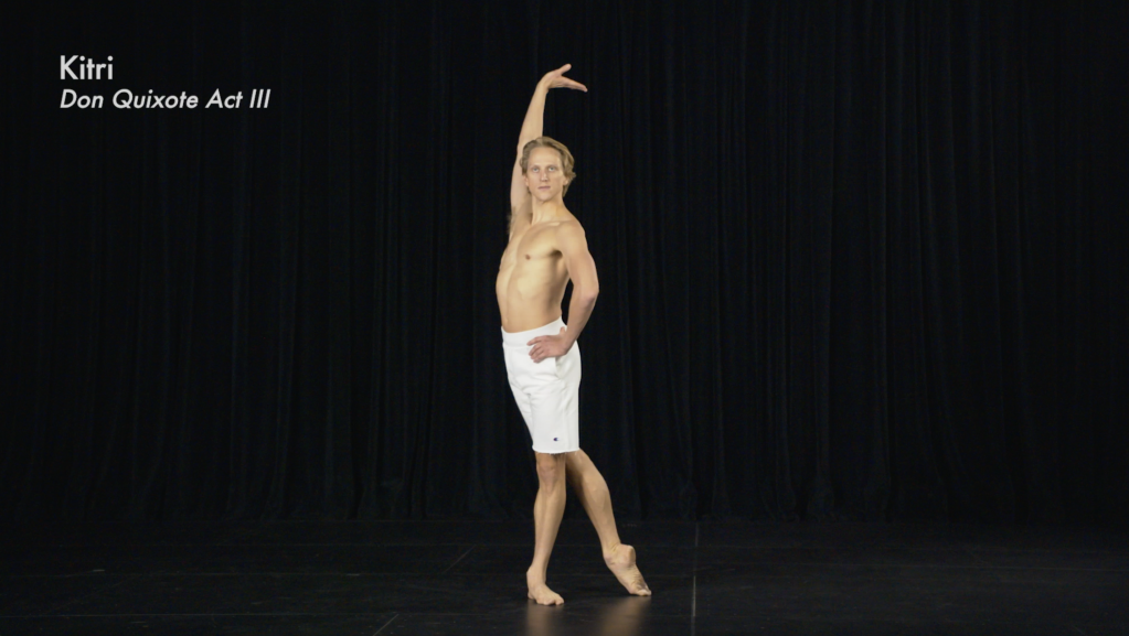 David Hallberg and Madeline Hollander 50 Final Bows, 2020. Film Stills from pre-recorded commissioned performance.
