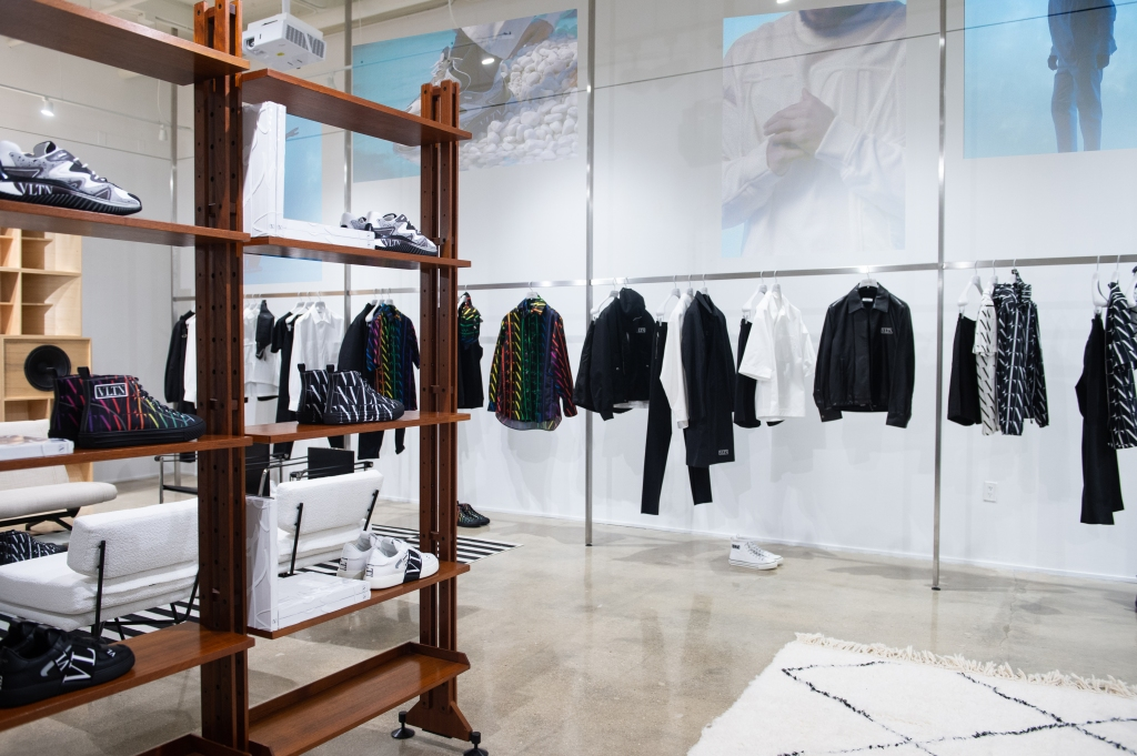 Valentino Episode men's pop-up in Miami