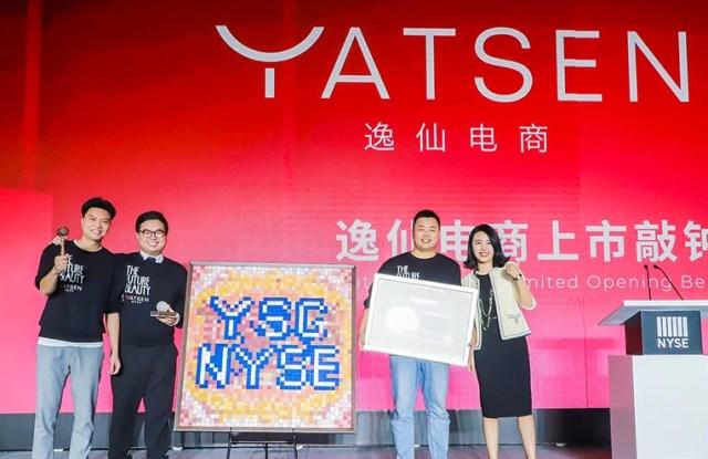 Yatsen founders celebrates the IPO at Rosewood Hotel, Guangzhou