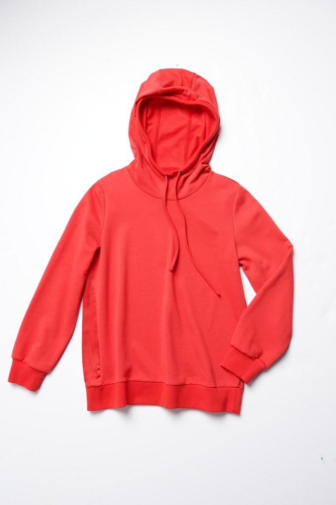 The J Jason Wu red hoodie.